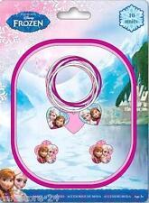 Disney Frozen Haarschmuck Set 10 Teile Haarspangen Haarklammer Clips Eiskönigin