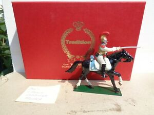 Tradition  745, Napoleonic French Cuirassiers cavalry in box, lead 54mm, JL