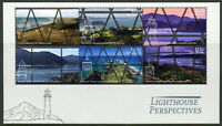 New Zealand NZ 2019 MNH Lighthouse Perspectives 6v M/S Lighthouses Stamps