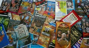 WWE Mystery 12 CARD LOT from Sealed Packs of Fleer, Topps WCW WWF 1985-2020 RARE