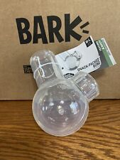 NWT BARK BOX 420 M-L SNACK PACKED DOG TOY