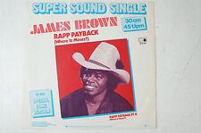 James Brown Rapp Payback Super Sound Single 30cm 45 Upm 1981 Metronome LP43