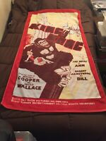 Vintage KING KONG 4ft 9in Beach Towel Poster Print Replica (EXTREMELY RARE)