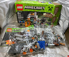 LEGO Minecraft THE CAVE 21113 Sealed Bags / Contents; Open Box COMPLETE 6092417