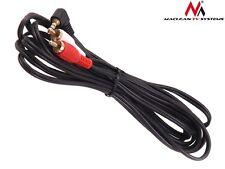 Maclean Mctv-824 Connettore Jack Audio 3 5 mm 90 gradi ad angolo retto (o5b)