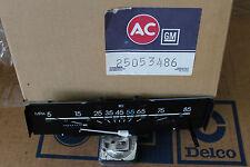 NOS AC Delco GM# 25053486 Speedometer Odometer Gauge 1984-1985 Chevy Celebrity