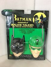 Brand New 1995 Batman Forever Handheld Walkie Talkies Sound Effects DC Comics