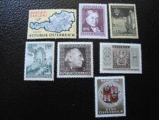 AUTRICHE - timbre - yvert et tellier n° 1036 a 1042 n** - stamp austria (A3)
