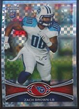 2012 Topps Chrome Xfractor rookie #152 Zach Brown rc