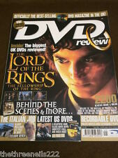 DVD REVIEW #41 - THE LORD OF THE RINGS THE FELLOWSHIP OF THE RING