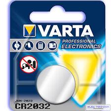 VARTA 6032 Lithium-knopfzelle CR 2032 230mah 3v Einzelblister Silber