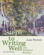 Steps to Writing Well with Additional Readings-ExLibrary