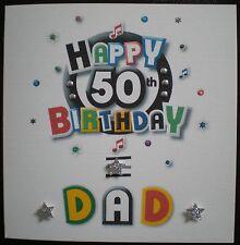 HANDMADE PERSONALISED BIRTHDAY CARD 18,21, 30, 40, 50,  60,  SON, BROTHER, DAD