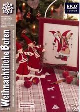 """Rico Design Stickheft Nr. 101  """"Weihnachtliche Boten"""""""