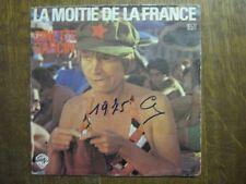 GINETTE GARCIN 45 TOURS FRANCE LA MOITIE DE LA FRANCE