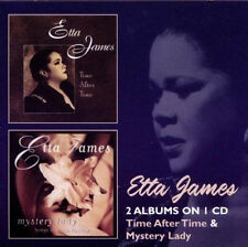 "ETTA JAMES  ""TIME AFTER TIME & MYSTERY LADY""  2 CD SET 23 TRACKS"