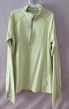 Callaway~Women's 1/2 Zip Nylon/Spandex LS Shirt/Top~Small~Green