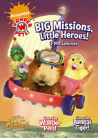 Wonder Pets!: Big Missions, Little Heroes! (3- New DVD