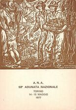 7591) ALPINI, TORINO 1977, 50 ADUNATA NAZIONALE.