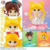 Sailor Moon Twinkle Statua 2 Serenità Venere Jupiter Set di 3 Statuette Giappone