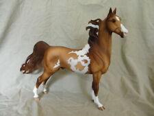 Breyer Saddlebred Dappled Dun Pinto CM/Custom Horse Statue OOAK