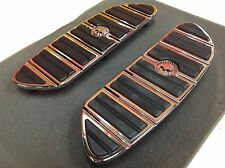 OEM Harley CVO Willie G Skull Touring Front FloorBoards Foot Boards Inserts