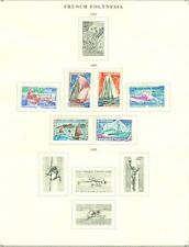 EDW1949SELL : FRENCH POLYNESIA 3 Diff. Mint OG Cplt sets. Stamps stuck. Cat $122