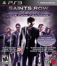 Saints Row 3 w/DLC (full pkg) (PlayStation 3)