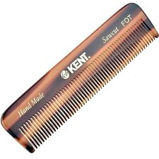 Handmade All Fine Tooth Saw Cut Beard Comb - Pocket Comb and Travel Comb