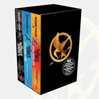 The Hunger games Catching Fire Mockingjay 3 Books Series Collection Suzanne