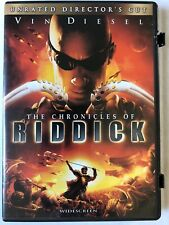 The Chronicles of Riddick (2004 Dvd Widescreen Unrated Directors Cut) Vin Diesel