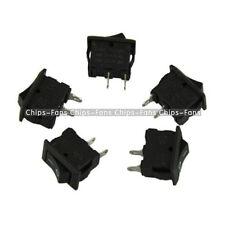 20PCS Mini Black Boat Rocker Plastic Switch KCD1-101 SPST ON-OFF Button 250V 3A