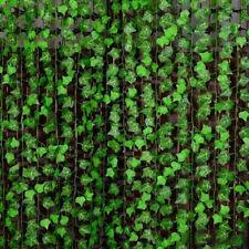2.4M Künstliche Efeu Efeubusch Efeugirlande Kunstpflanzen Haus Deko Pflanze New