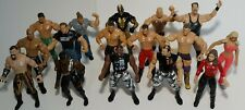VINTAGE Lot Of 16 Jakks Pacific WWE Superstars Action Figures 1997-2000