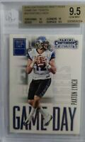Paxton Lynch 2016 Contenders Draft Picks Game Day Tickets #16 RC BGS 9.5 GEM RC