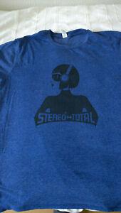 Stereo Total  : T-Shirt in L  blau wie neu
