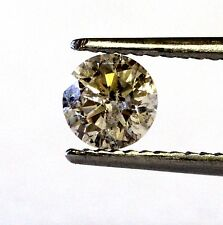 loose round estate diamond .52ct I3 Brown 5.06x3.14mm antique vintage