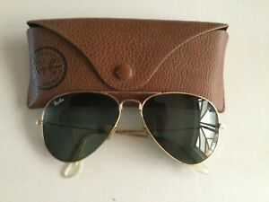 Ray Ban sunglasses RB3025 Aviator Large Metal with Oriiginal case