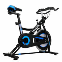 Pro Exercise Bike Fitness Cardio Workout Machine BLACK/BLUE
