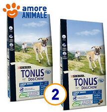 2 SACCHI - Purina Tonus Large Breed Adult 14 kg x cane taglia grande al tacchino
