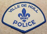 Ca Ville De Hull Quebec Canada Police Patch