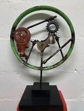 Recycled Scrap Metal Art Sculpture  Handmade