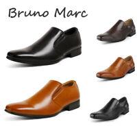 BRUNO MARC Men's Classic Formal Dress Shoes Slip On Comfort Loafer Shoes