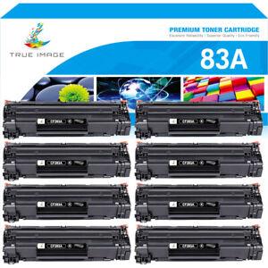 8PK Compatible for HP 83A CF283A Toner LaserJet Pro M127fn M127fw M125nw M201dw