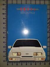 1988 Ford Merkur XR4Ti Brochure