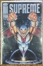 Image Comics Supreme #1 Silver Embossed Ed. Nov 1992  Bagged and Boarded