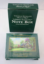 New Thomas Kinkade Painter of Light 200 Printed Note Box - A Perfect Summer Day