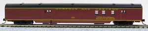 """N Smooth Side Baggage Mail """"Norfolk & Western"""" (Tuscan Red) (1-40122)"""