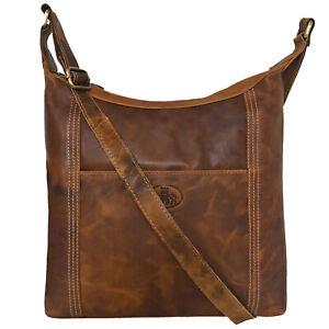 Rowallan Large Tan Leather Handbag, Shoulder Bag