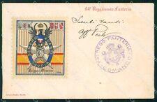Militari Reggimentali 94º Reggimento Fanteria Brigata Messina cartolina XF5699
